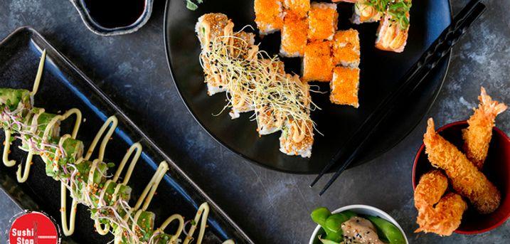 Take-away sushi: 38 stk.. Kunderne elsker den her sushi, og servicen er i top