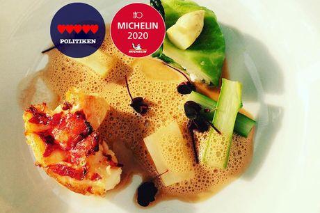 Spar 33% i aften: Michelin-anbefalede hits fra kokkekunstens grand old man, Erwin Lauterbach.