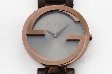 Gucci Dameur - Interlocking G Brown Dial Brown