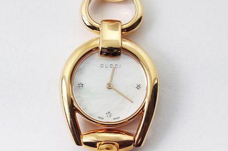 Gucci Dameur - Horsebit Mother of Pearl Dial Rose Gold