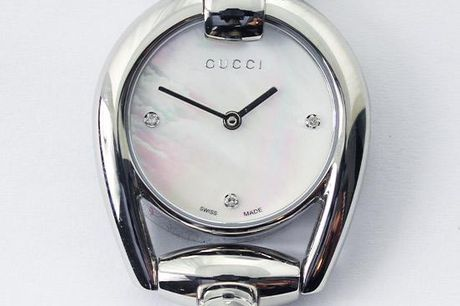 Gucci Dameur - Horsebit Collection Mother of Pearl Dial Stainless Steel