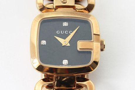 Gucci Dameur - G Black Diamond Dial Rose Gold-tone