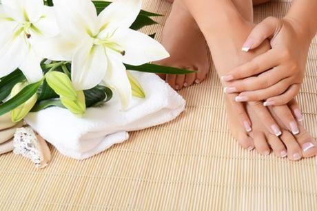 Beauté des mains et/ou des pieds avec pose du vernis semi-permanent