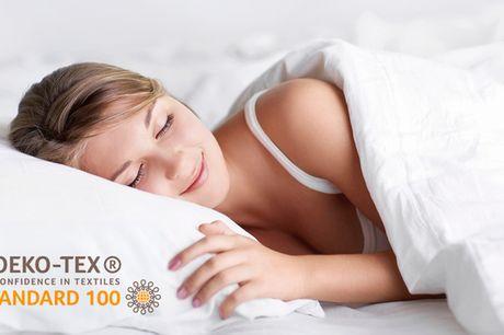 Helårsdyne med moskusdun. Sov godt hele året rundt - Øko-tex 100-certificeret