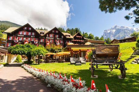 Svizzera Svizzera - Romantik Hotel Schweizerhof 5* a partire da € 128,00. Soggiorno in 5* con vista sul monte Eiger