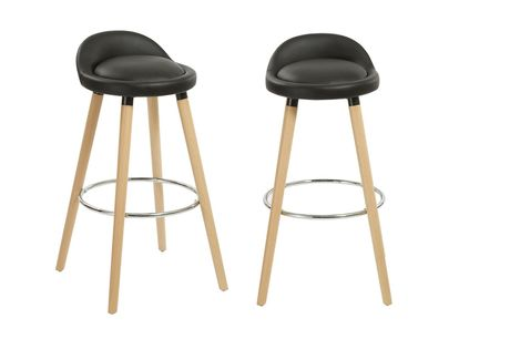 £39 for a black bar stool from Furniture Dealz