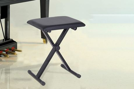 £19.99 instead of £32.99 for a foldable piano stool from mHstar– save 39%