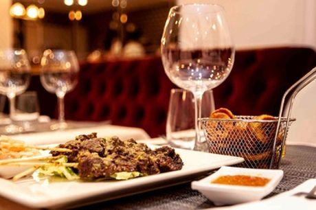 Formule entrée et plat ou plat et dessert ou Entrée, plat et dessert pour 1 ou 2 pers. au restaurantLa Paillote D'or