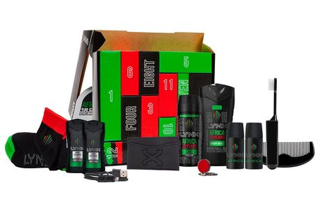 £15.99 for a Lynx Africa 2020 advent calendar or £29.99 for two calendars from Avant Garde