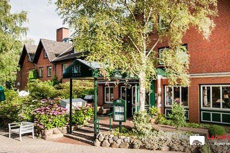 NYHED! HOTEL BIRKE i Kiel - 4* ophold, middag, vinmenu, morgenmad og wellness. Pris pr. pers.
