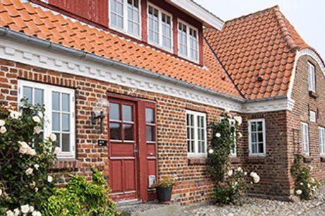 HOTEL NØRRE VINKEL i Lemvig - 1 overnatning, gastronomimiddag og afstemt vinmenu mm.