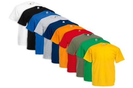 Pack de 10 camisetas de Fruit of The Loom