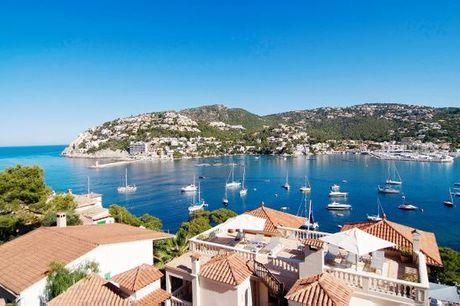 España Puerto de Andrach - Hotel Villa Italia 4* desde 166,00 €. Descanso en familia con vistas al mar
