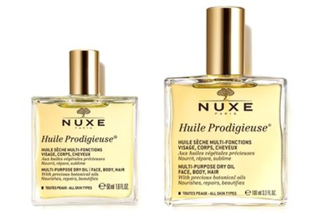 One or Two Bottles of Nuxe Body and Hair Huile Prodigieuse Oil