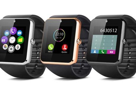 1 o 2 smartwatches multifunción Smartek SW-832 con opción a tarjeta microSD de 16 o 32 GB