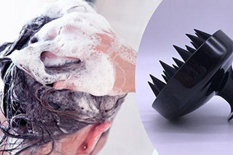 Hårbørste til badet, der nænsomt masserer og stimulerer din hovedbund.