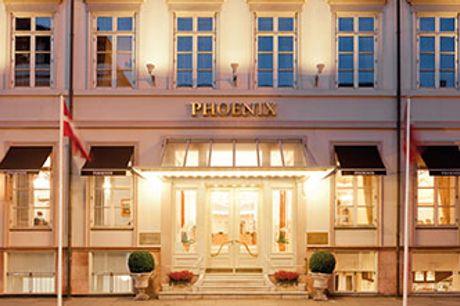 NYHED: PHOENIX COPENHAGEN -  1,2 el. 3 nætter m. morgenmad, chokolade, gratis WiFi, gratis fitness.