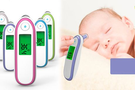 Berøringsfri digitalt kropstermometer til børn