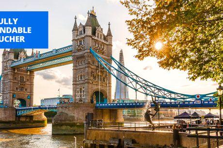 £85 -- London getaway near Tower Bridge, save 58%