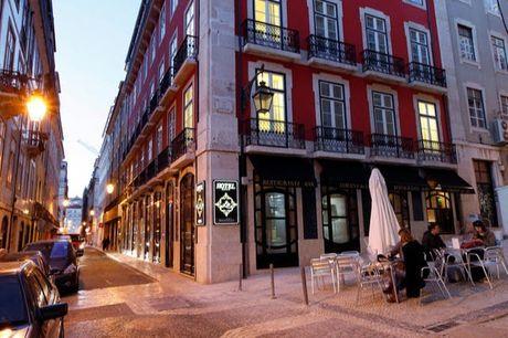Altstadt-Liebe in Lissabon - Kostenfrei stornierbar, Hotel Lis - Baixa, Lissabon, Portugal - save 69%
