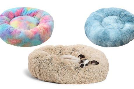 Round Plush Pet Bed