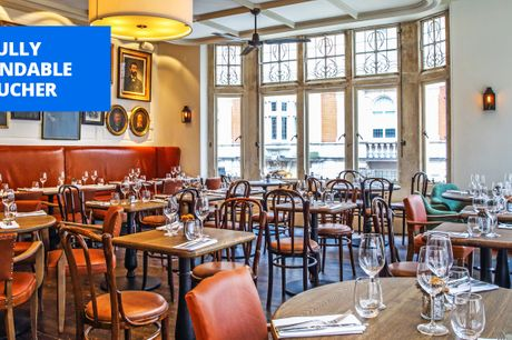 £29 -- The Times top-30 venue: meal & drinks for 2 in London