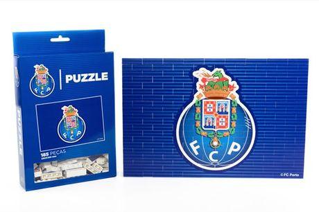 Um puzzle inovador para os apaixonados por futebol! Puzzle Brick do Futebol Clube do Porto desde 16,90€