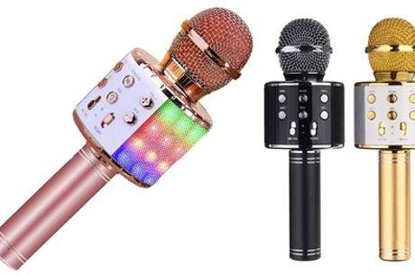 1 o 2 micrófonos de karaoke con Bluetooth