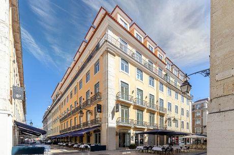 Facettenreicher Citytrip nach Lissabon - Kostenfrei stornierbar, Hotel Santa Justa Lisboa, Lissabon, Portugal - save 46%