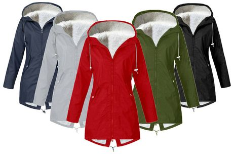 £17.99 instead of £69.99 for a women's fleece raincoat from My Brand Logic! - save <DiscountPercentage>2402174%