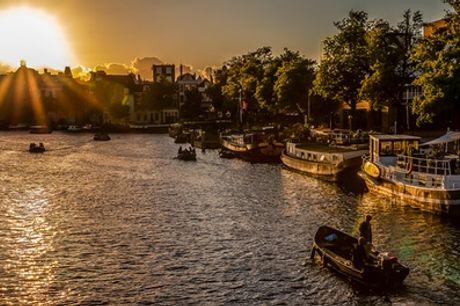 Amsterdam Rembrandtplein: tweepersoonskamer voor 2, naar keuze incl. ontbijt in Eden Hotel Amsterdam