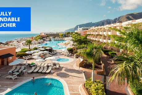 £289pp -- All-inclusive Tenerife resort week, up to 44% off