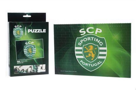 Um puzzle inovador para os apaixonados por futebol! Puzzle Brick do Sporting Clube de Portugal! desde 16,90€