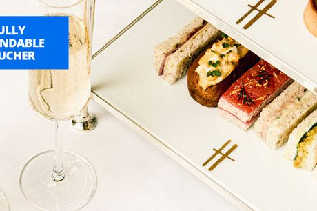 £99 -- Harrods tea room: champagne afternoon tea for 2