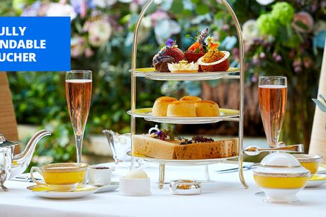 £99 -- Champagne afternoon tea for 2 at 5-star London hotel
