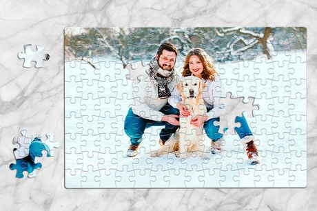 £1.99 instead of £9.95 for a small personalised puzzle, £4.99 for a medium, £8.99 for a large or £10.99 for an extra-large from Printerpix - save up to 80%