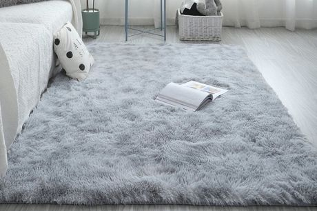 £10.99 for a 60cm x 110cm shaggy rug, £12.99 for a 80cm x 150cm rug or £19.99 for a 120cm x 170cm rug