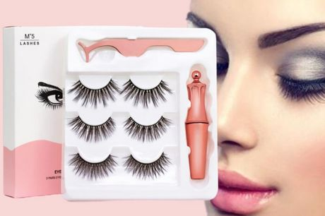£6.99 instead of £26.99 (from Pinkpree) for a magnetic eyelashes and eyeliner kit - save 74%