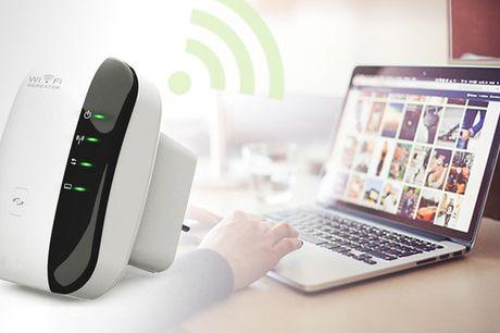 Wi-Fi repeater. Du behøver ikke finde dig i et sløvt internetsignal