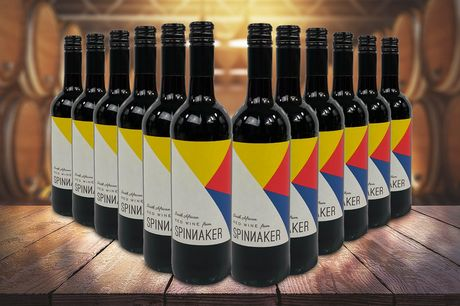 £59 for a 12-bottle case of Spinnaker red wine from eliot's - sip on a smooth South African red