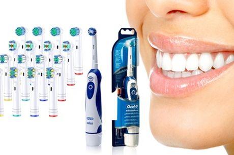 Cepillo de dientes Oral B con opción a pack de 16 cabezales