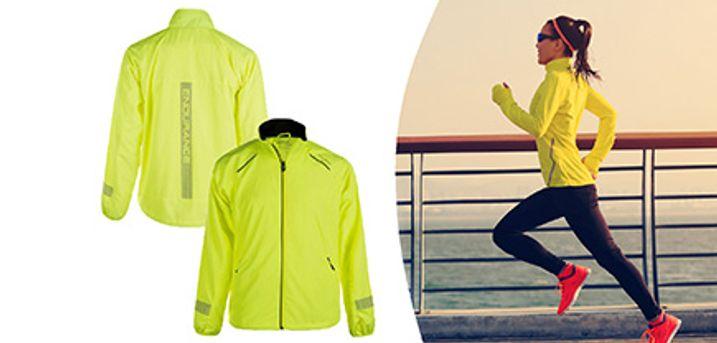 Endurance Sportsjakke i gul. Fås i dame- og herremodel. Vælg ml. mange størrelser.