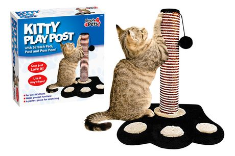£8.99 for a cat scratch play post from Urban Essentials