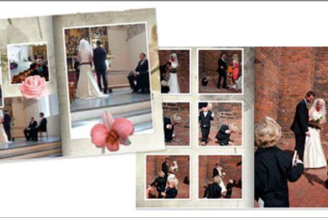 Gem minderne i en kvalitets fotobog fra Fotosjov.dk - Fotobog m/32 sider inkl. omslag fra Fotosjov.dk, værdi kr. 274,- inkl. fragt