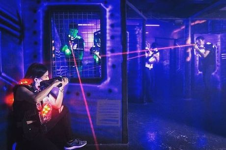 £5 instead of £9.95 for two games of laser quest for one person at LaserQuest, Preston - save 50%