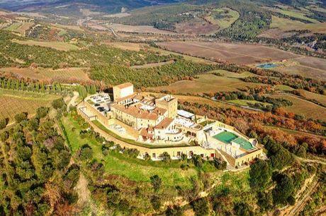 Luxuriöses Kastell in der Toskana - Kostenfrei stornierbar, Castello di Velona Resort, Thermal Spa & Winery, Montalcino, Toskana, Italien - save 38%