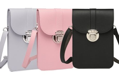 Miss Lulu Slim Mobile Cross-Body Bag