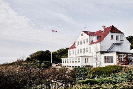 NYHED: Strandhotel Røsnæs inkl. lækker morgenmad og smukke omgivelser. Miniferie ved Kalundborg Fjord inkl. lækker morgenmad og smukke omgivelser - vælg mellem 2 pakker