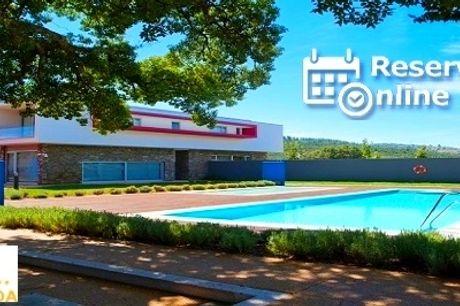 Hotel Santa Margarida 4*: 1 ou 2 Noites com Jantar & SPA junto à Ribeira de Oleiros. Perfeito para escapada em família. RESERVA ONLINE!