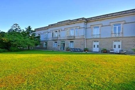 Villa Garden Braga 4*: Estadia relaxante num Hotel de Charme, com Pequeno-almoço, Porto de Boas-vindas e Opção de Jantar desde 34€.